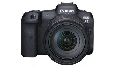 تصویر از کانن از دوربین های بدون آینه EOS R5 و EOS R6 رونمایی کرد