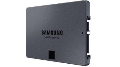 تصویر از سامسونگ از حافظه SSD سری 870 QVO رونمایی کرد