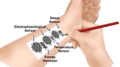 تصویر از بکارگیری از قلم و کاغذ برای ساخت فناوریهای پوشیدنی سلامتی