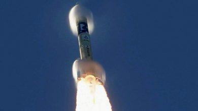 تصویر از پرتاپ موفقیت آمیز فضاپیمای اماراتی امید به سوی مریخ