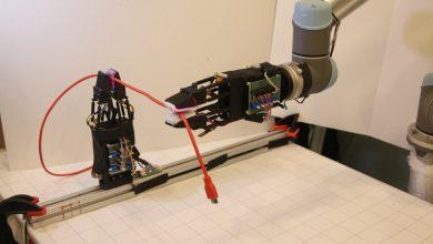 تصویر از محققان MIT رباتی با قابلیت باز کردن گره کابل ها طراحی کردند