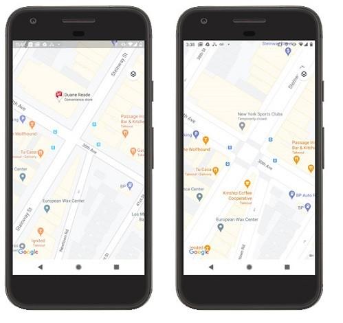 google maps updated with more detailed maps 1 - گوگل مپس با نمایش جزئیات بیشتر به طور رنگی بروزرسانی شد