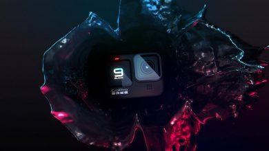 تصویر از گوپرو از دوربین فیلمبرداری Hero 9 Black رونمایی کرد