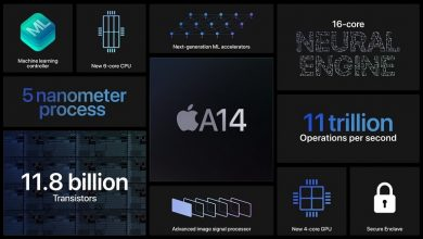 تصویر از اپل از تراشه جدید A14 Bionic را رونمایی کرد