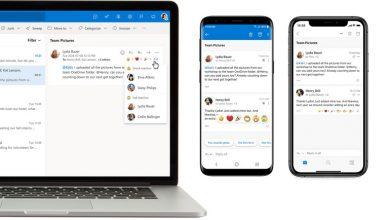 تصویر از اپلیکیشن Outlook مایکروسافت با قابلیت های جدید بروزرسانی شد