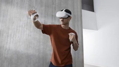 تصویر از هدست واقعیت مجازی Oculus Quest 2 معرفی شد