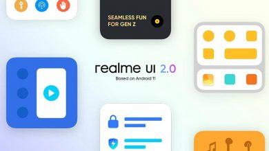 تصویر از رابط کاربری Realme UI 2.0 (اندروید 11) در تاریخ 31 شهریور معرفی می شود