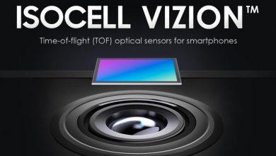 تصویر از سامسونگ در حال توسعه سنسور 3D ToF با نام ایزوسل ویژن است