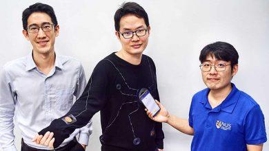 تصویر از طراحی لباس هوشمند با توانایی نمایش اطلاعات بدن