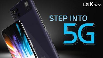 تصویر از گوشی LG K92 5G با تراشه اسنپدراگون 690 معرفی شد