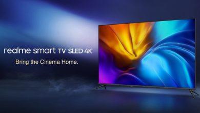 تصویر از تلویزیون هوشمند Realme SLED 4K معرفی شد