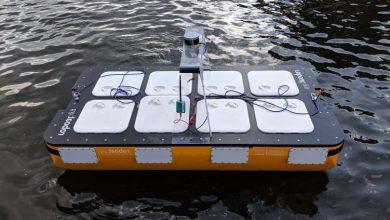 تصویر از آزمایش نسل جدید قایق خودران Roboat توسط MIT با قابلیت حمل دو مسافر