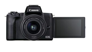 تصویر از کانن از دوربین EOS M50 Mark II برای ولاگرها معرفی کرد