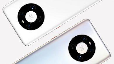 تصویر از هواوی میت 40 با تراشه کایرین 9000E معرفی شد
