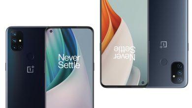 تصویر از گوشی وان پلاس نورد N10 5G و N100 معرفی شدند