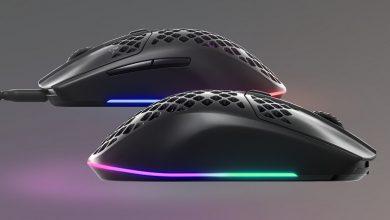 تصویر از استیل سریز از ماوس های گیمینگ Aerox 3 رونمایی کرد