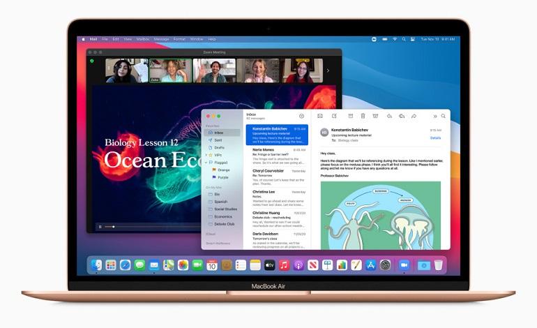 apple macbook air vs dell xps 13 hp envy 13 - نحوه اجرای اپلیکیشن های آیفون و آیپد در مک