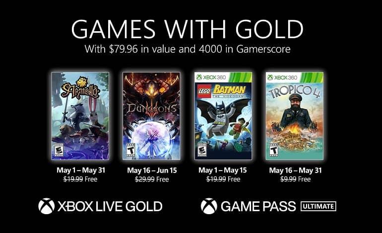 MayGwG 16x9 4UP Points ESRB Pricing JPG - بازی های رایگان ماه مه 2021 ایکس باکس لایو گلد اعلام شد