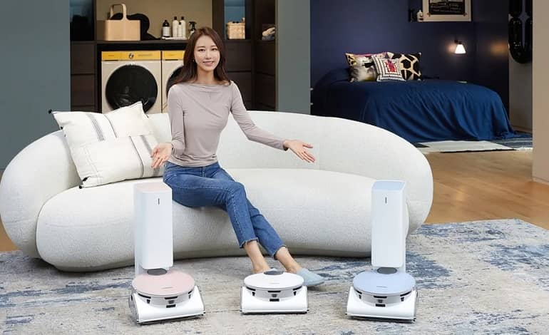 Samsung Bespoke Jet Bot AI 2 - رونمایی سامسونگ از جاروبرقی رباتیک Bespoke Jet Bot AI