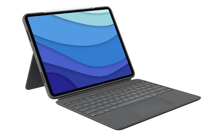 logitech combo touch keyboard new ipad pro - رونمایی لاجیتک از کیبورد کمبو تاچ برای آیپد پرو 2021