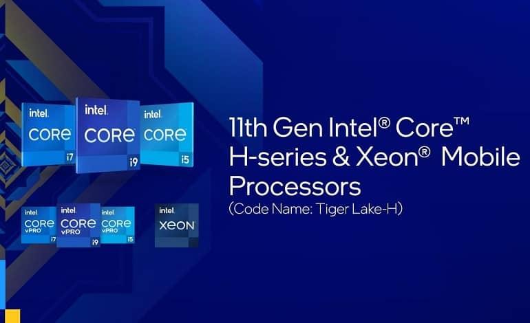 1620737554 intel - اینتل از پردازنده نسل 11 سری H با حداکثر سرعت 5 گیگاهرتز رونمایی کرد