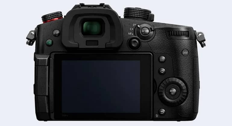 GH5M2 body back K T4 - پاناسونیک از دوربین لومیکس GH5 Mark II رونمایی کرد