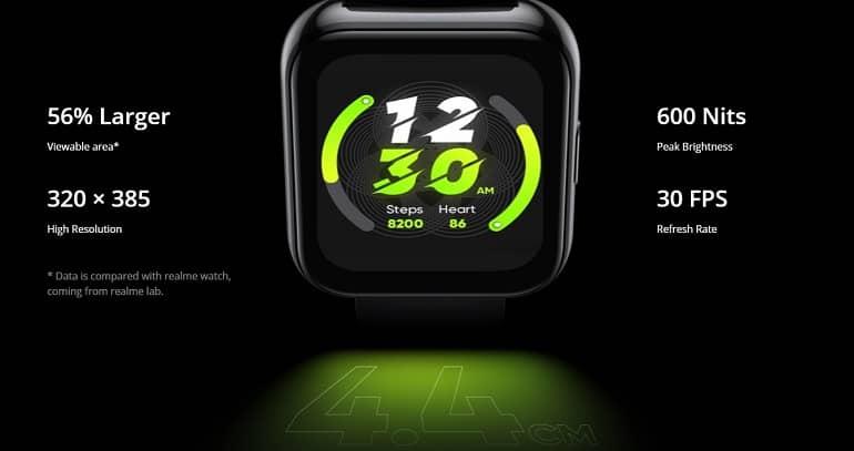 Realme Watch 2 Pro announced 1 - ریلمی واچ 2 پرو با عمر باتری 14 روزه معرفی شد