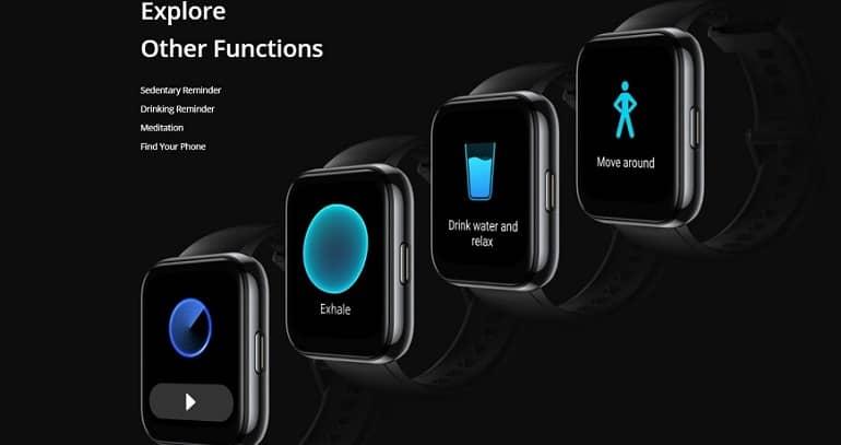 Realme Watch 2 Pro announced 4 - ریلمی واچ 2 پرو با عمر باتری 14 روزه معرفی شد