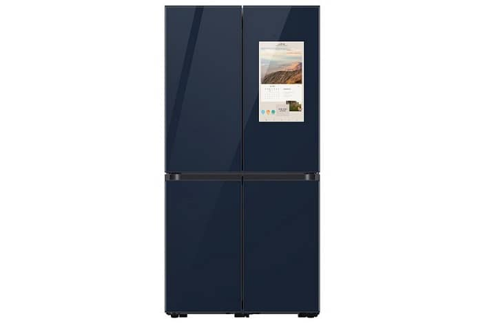 Samsung Bespoke Refrigerator Family Hub 6 - سامسونگ از یخچال Bespoke جدید با قابلیت Family Hub رونمایی کرد