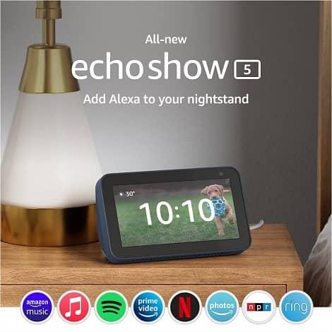 amazon echo show 5 8 gen two 2 - آمازون نسخه بروزرسانی شده اکو شو 5 و اکو شو 8 را معرفی کرد