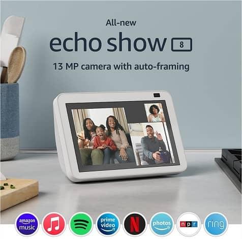 amazon echo show 5 8 gen two - آمازون نسخه بروزرسانی شده اکو شو 5 و اکو شو 8 را معرفی کرد