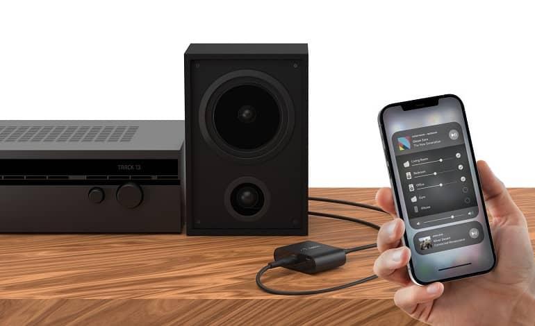 belkin soundform connect - بلکین Soundform Connect، ایرپلی 2 را به هر سیستم اسپیکری می آورد