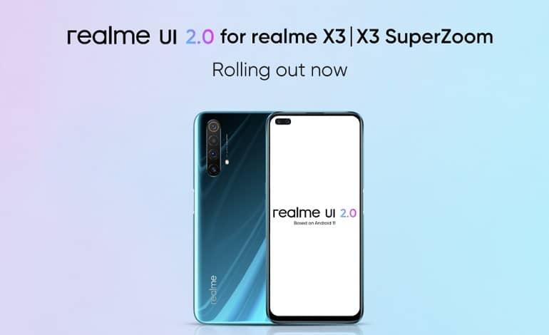 realme X3 SuperZoom realme UI 2 Android 11 Stable Update - ریلمی X3 و X3 سوپرزوم آپدیت اندروید 11 را دریافت کردند
