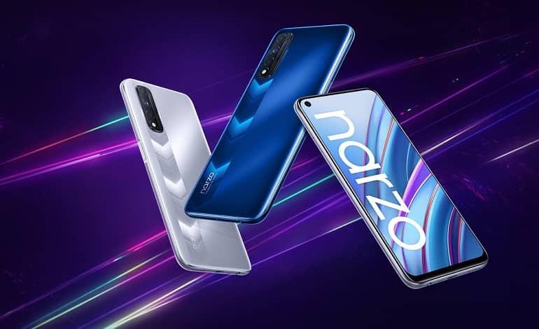 realme narzo 30 official - گوشی اقتصادی ریلمی Narzo 30 معرفی شد