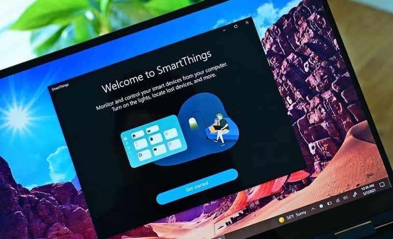 smartthings samsung 2021 app1 - اپلیکیشن SmartThings سامسونگ برای ویندوز 10 منتشر شد