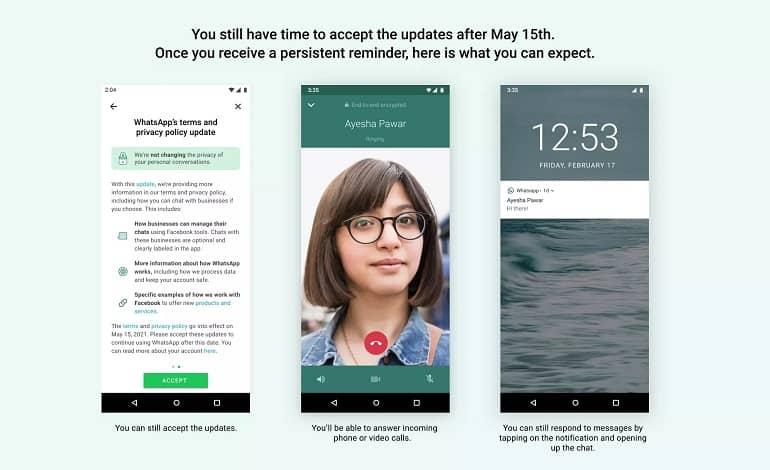 whatsapp deadline - در صورت قبول نکردن شرایط واتس اپ، دسترسی ها محدود می شود
