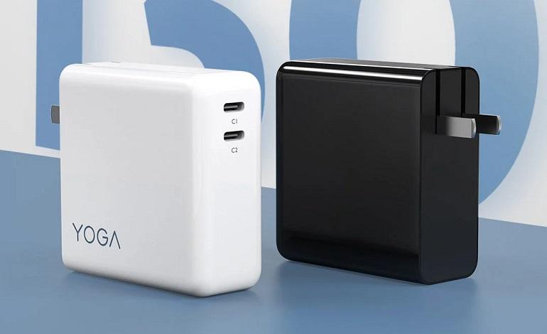 yoga cc130 2 - عرضه شارژر لنوو YOGA CC130 با دو رابط USB-C و خروجی 130 وات