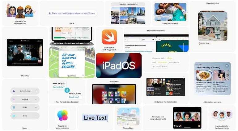 E3TC FtWUAMB3LR - اپل iPadOS 15 معرفی شد
