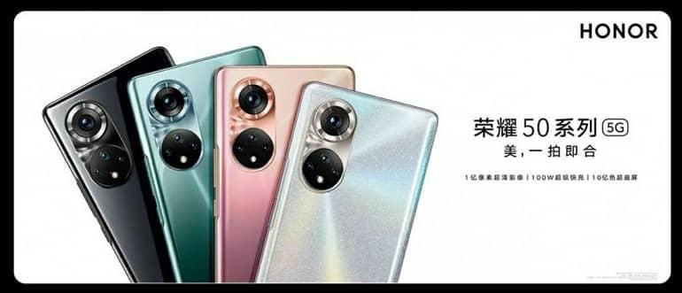 Honor 50 camera finally revealed in official teasers 1 - انتشار تیزرهای رسمی از گوشی آنر 50