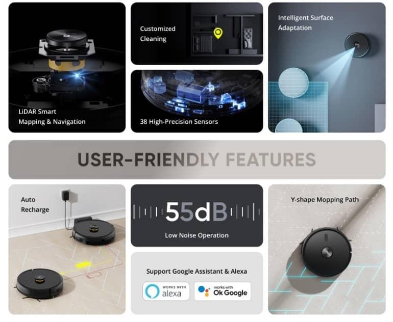 Realme TechLife Robot Vacuum specs - ریلمی از جاروبرقی رباتیک TechLife Robot Vacuum رونمایی کرد