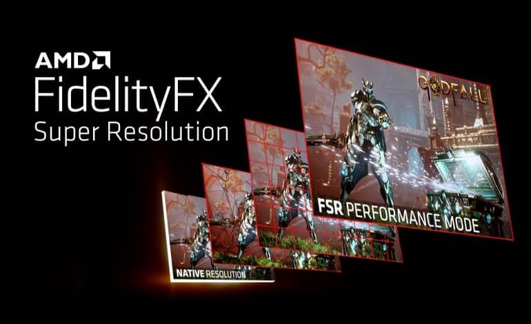 amd fsr 1 - انتشار فناوری AMD FidelityFX Super Resolution برای افزایش نرخ فریم