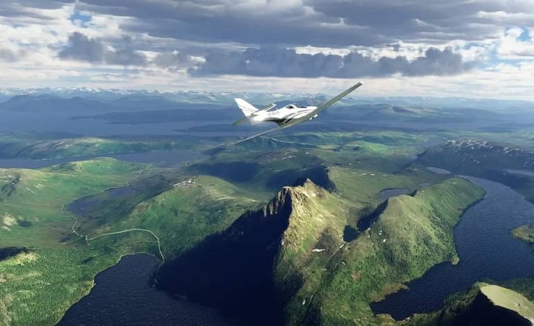 flight sim1700 - آپدیت Flight Simulator مایکروسافت با اضافه شدن مناظر اروپای شمالی