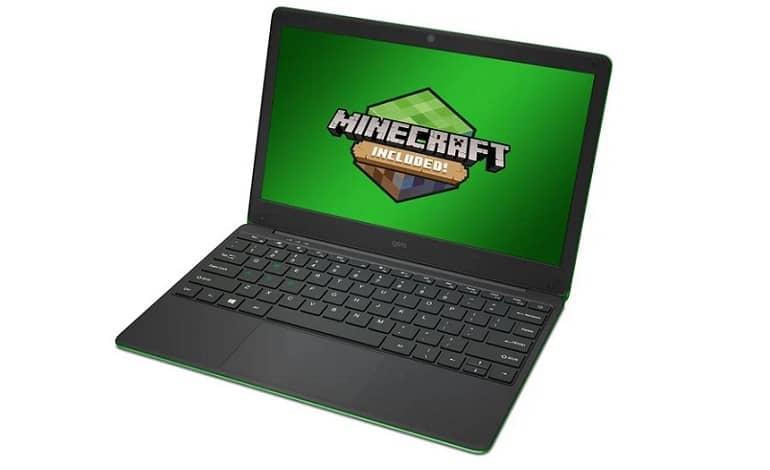 geobk 120 minecraft green - رونمایی Geo از لپ تاپ اقتصادی و بهینه شده برای بازی ماینکرفت