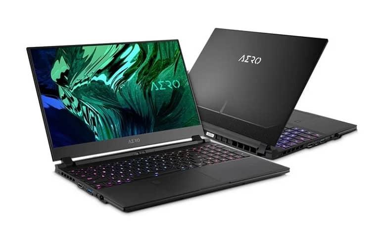gigabyte aero 15 1 - گیگابایت از لپ تاپ های جدید AERO 15 و AERO 17 رونمایی کرد