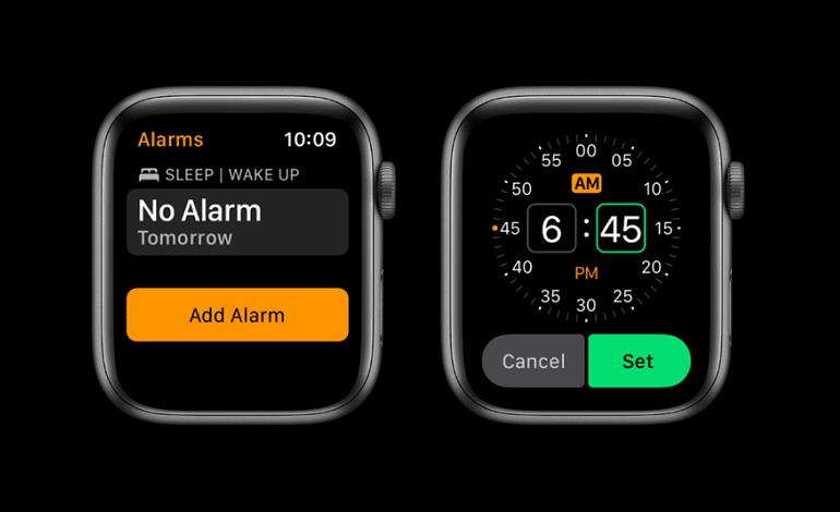 how to set an alarm on apple watch - نحوه تنظیم زنگ هشدار در اپل واچ