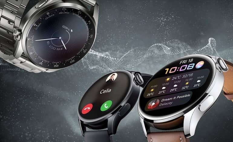 huawei watch 3 announced - هواوی واچ 3 و واچ 3 پرو با سیستم عامل هارمونی رونمایی کرد
