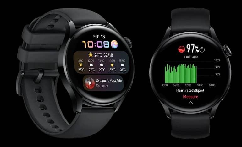 huawei watch 3 vs samsung galaxy watch 3 specs comparison - مقایسه مشخصات هواوی واچ 3 با سامسونگ گلکسی واچ 3