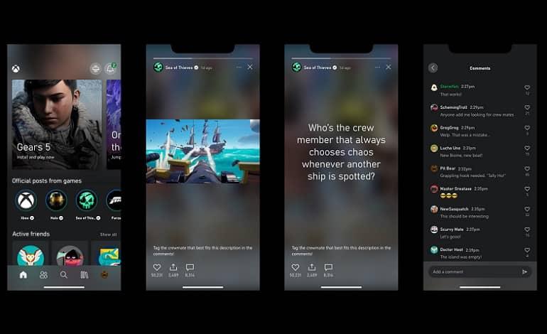 microsoft announces game stories in the xbox app - قابلیت استوری بازی به اپلیکیشن ایکس باکس افزوده شد