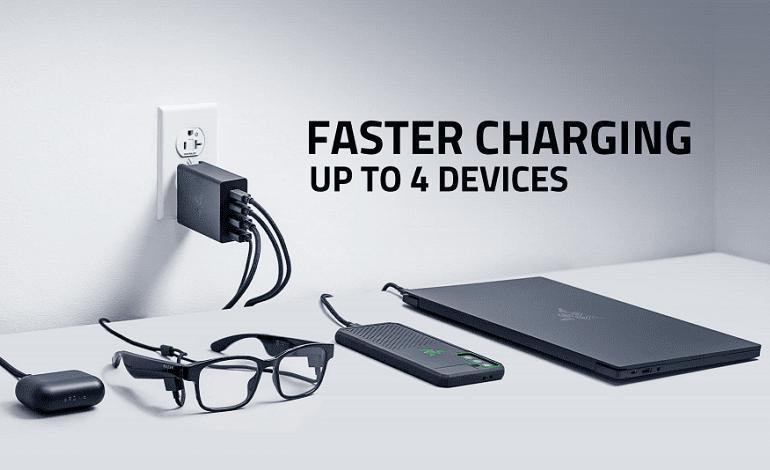 razer 130w gan power adapter - ریزر از شارژ سریع 130 واتی با قیمت 130 دلار معرفی کرد