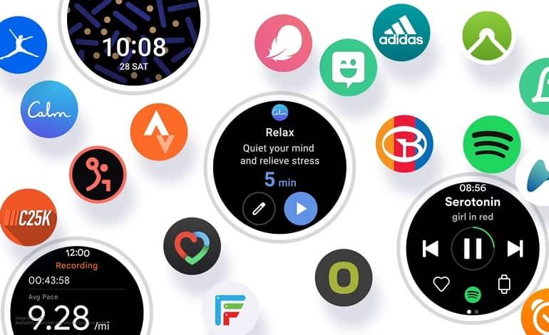 samsung wear YiLnkkFWPOVh - معرفی سامسونگ از رابط کاربری One UI Watch مبتنی بر Wear OS